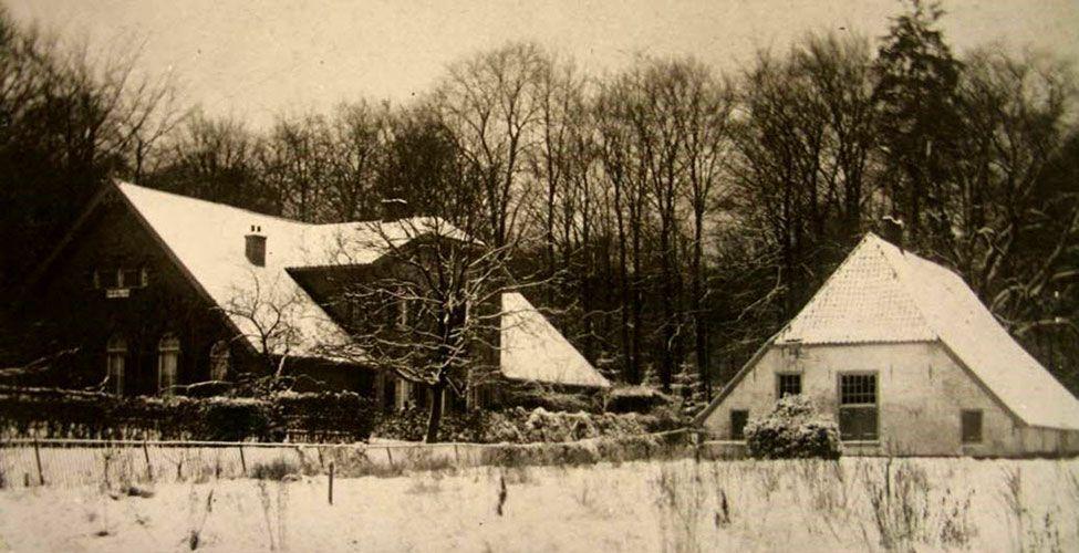 Foto van de Teerplaats uit 1905